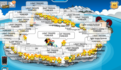The Light Troops of Club Penguin | Club Penguin Online: Light Troops